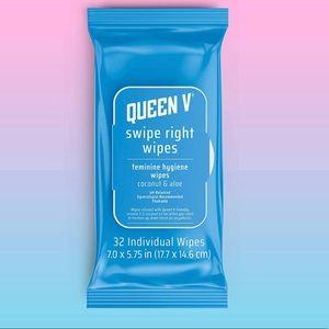 Queen V Swipe Right Wipes